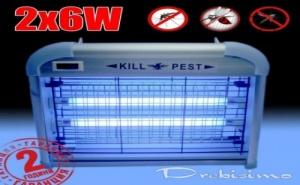 Лампа Против Комари 2 Х 6 W