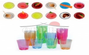 16 Броя  Пластмасови Чаши за Шотове