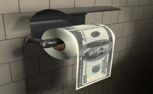 Тоалетна Хартия - 100 Долара