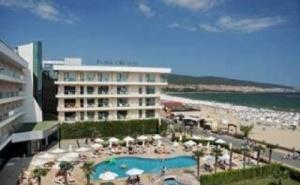 Топ Хотел Първа Линия в Слънчев Бряг, All Inclusive с Аквапарк до 30.06 в Клуб Хотел Еврика