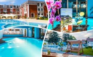 Нощувка със закуска и вечеря + топъл басейн в хотел Шато Монтан, Троян.