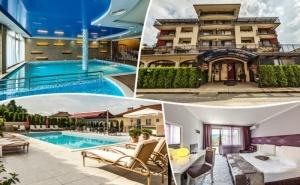 Нощувка на човек със закуска и вечеря +  2 минерални басейна и релакс пакет в хотел Енира****, <em>Велинград</em>