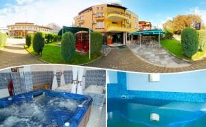 Нощувка на човек със закуска + терапевтичен минерален басейн само за 25 лв. в хотел Елит, <em>Девин</em>