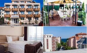 През Юни на Море в <em>Равда</em>! Нощувка със Закуска и Вечеря* в Хотел Ивиан, на 150М. от Плажа!