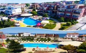 Лято в <em>Созопол</em> на 50М. от Плажа! Нощувка със Закуска, Обяд* и Вечеря + Басейн в Хотел Съни***
