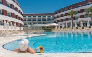 Септемврийска почивка в <em>Бодрум</em>, Турция! 7 Ultra All Inclusive нощувки в Хотел Grand Park Bodrum 5* с Далла Турс!