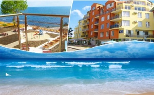 На Брега на Морето в Ахтопол. Нощувка или Нощувка със Закуска в Хотел Генезис, на 5Мин. до Централния Плаж!