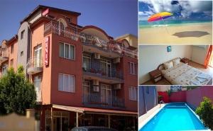 Лято в Равда, на 5Мин. от Плажа! Нощувка + Басейн с Детска Зона в Семеен Хотел Денис!