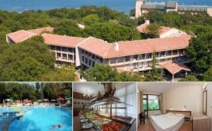 На Море в <em>Златни Пясъци</em>! Нощувка със Закуска + Басейн в Хотел Преслав на 150М., от Плажа!