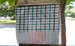 Комплект Разноцветни Самозалепващи Платове за Декорация