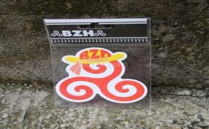 Голям Стикер Bzh