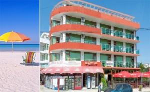 На Море в <em>Приморско</em>. Нощувка със Закуска или Нощувка със Закуска и Вечеря в Хотел Нортик, в Близост до Два Плажа.