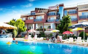 Лято в <em>Созопол</em>! Нощувка със Закуска + Басейн в Хотел Съни 3*, на 50М. от Плажа!