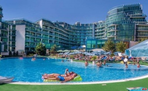 Топ Оферта за Море Лято 2019 в Приморско, Ultra All Inclusive с Плаж След 08.08 в Хотелска Част на Приморско Дел Сол