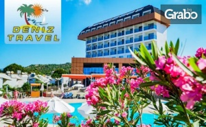 Морски релакс и лукс в Анталия! 7 нощувки на база All Inclusive в Throne Beach Resort & Spa*****, Сиде
