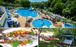 Лято в Добринище. Нощувка, Закуска и Вечеря в Къща за Гости Андрееви, с Лятна Градина и Рибарник!