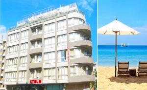 На Море в <em>Несебър</em>! Нощувка със Закуска в Хотел Стела, на 100М. от Южния Плаж!