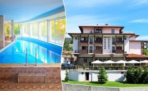 Почивка в Еленския Балкан. Нощувка на човек със Закуска и Вечеря + Басейн в Елени Палас, Елена