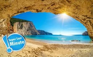 Super Last Minute! Eксурзия на Остров <em>Лефкада</em>,  Гърция. Транспорт, 3 Нощувки на човек със Закуски от Та Трипс Ту Гоу