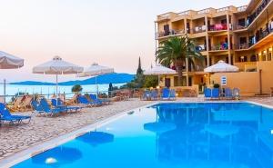Лято 2019 на Първа Линия на о. <em>Корфу</em>, Гърция! Нощувка в Двойна Стая Комфорт на човек на База All Inclusive + Басейн  в Хотел Belvedere***
