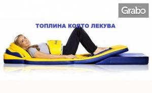 Лечебен масаж на гръб, кръст и ръце, плюс масаж на глава и термомасаж на цяло тяло