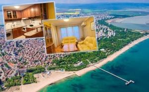 Нощувка за до Четирима в Апартамент за Гости Катлея, на 200 М. от Плажа в <em>Бургас</em>