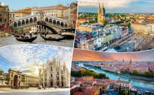 Екскурзия до <em>Загреб</em>, Верона, Венеция и Възможност за Шопинг в Милано! Транспорт, 3 Нощувки със Закуски на човек от Та Далла Турс