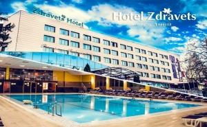 Нощувка на човек със Закуска, Обяд и Вечеря + Басейн и Релакс Пакет в Хотел Здравец Уелнес и Спа****, Велинград