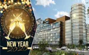 Нова Година в Истанбул! Транспорт, 3 Нощувки на човек, Закуски и Басейн в Mercure Istanbul West Hotel & Convention Center***** + Празнична Вечеря от Та Далла Турс