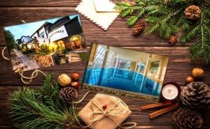 Коледа в комллекс Каталина, Цигов Чарк! 3 нощувки на човек със закуски, обеди и вечери + празничен куверт, топъл басейн и СПА пакет