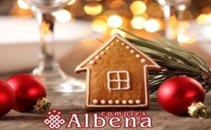 Коледа в Хисаря! 2 Нощувки на човек със Закуски и Вечери, Едната Празнична + Минерален Басейн и Релакс Зона от Хотел <em>Албена</em>***
