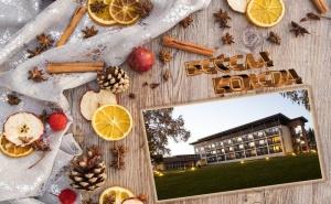 Коледа в Спа Хотел <em>Белчин</em> Гардън, с. <em>Белчин</em> Баня! 4 или 5 Нощувки за Двама със Закуски и 2 Вечери + Празнична Програма + Басейни и Спа с Минерална Вода