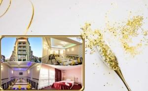 Нова Година 2020 в Слънчево <em>Поморие</em>!  2 или 3 Нощувки на човек със Закуски и Празнична Вечеря  в Уютния Хотел Зевс