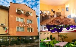 Нощувка на човек в Хотел Колор, Варна