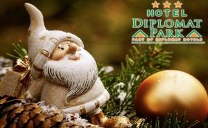 Коледа в Хотел Дипломат Парк***, <em>Луковит</em>! 2 Нощувки на човек със Закуски и 2 Празнични Вечери с Dj +  Басейн и Спа Пакет в Хотел Дипломат Плаза