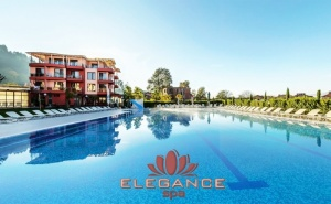2, 3 или 4 нощувки на човек със закуски и вечери + 3 минерални басейна и релакс зона от хотел Елеганс СПА***, Огняново