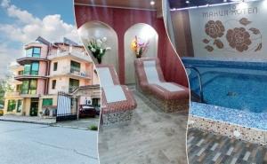 Нощувка на човек със закуска или закуска и вечеря + НОВ релакс център в хотел Мания, Чифлика