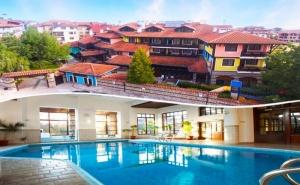 Нощувка на човек със закуска и вечеря* + басейн и СПА в хотел Танне****, Банско