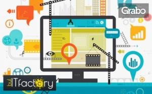 Онлайн курс Да направим собствен бизнес уеб сайт в 10 стъпки, с неограничен достъп до платформата