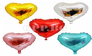 Балон Сърце от Фолио