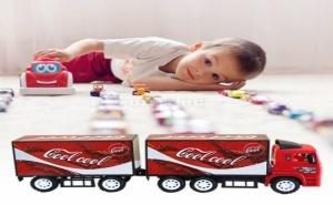 Голям Детски Камион с Ремарке