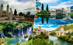 Великден 2020 във Вишеград и Междугорие, Босна и Херцеговина! 4 Нощувки на човек със Закуски, Вечери, Едната от Които Празнична  + Транспорт от  Та Албатрос Турс