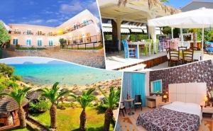 Почивка на 40М. от Плажа в Кавала, Гърция! Нощувка за Двама, Трима или Четирима със Закуска + Частен Плаж, Чадър и Шезлонг във Вила Николас