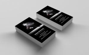 100, 500 или 1000 броя едностранни визитки от Уеб Дизайнс