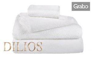 Бели хавлиени кърпи Hotel Lux от 100% памук - размер по избор