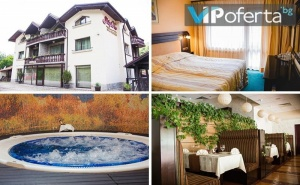 Еднодневен Пакет със Закуска и Вечеря + Ползване на Спа, Джакузи и Басейн с Минерална Вода в Семеен Хотел Шипково
