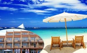 Лято 2020На 40 Метра от Плажа в Равда! 5 или 7 Нощувки със Закуски и Вечери в Хотел Германа Бийч