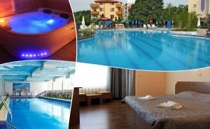 Почивка от Юли до Септември в Хисаря! 2, 3 или 4 Нощувки на човек със Закуски и Вечери + 2 Басейна с Минерална Вода и Релакс Зона от Хотел <em>Албена</em>**
