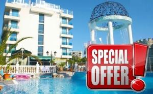 Лято 2020 в Китен на Топ Цена! Нощувка на човек + Басейн в Изцяло Обновения  Хотел Китен Бийч, на 200 М. от Плажа в Китен