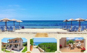 Топ Сезон на Плажа в Скала Панагия, <em>Тасос</em>, Гърция! Нощувка в Студио за Двама, Трима,четирима или Шестима в Amaryllis Studios